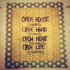 open heart etc