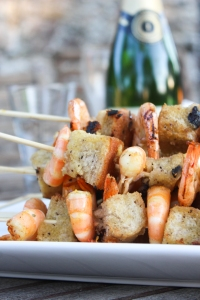 Figs + Prawn Skewers-3