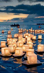 hawaian lanterns
